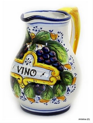 Italian Ceramic Pitchers