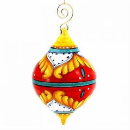 Deruta Christmas Ornaments