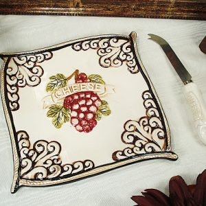 Decorative Butter & Cheese Dishes